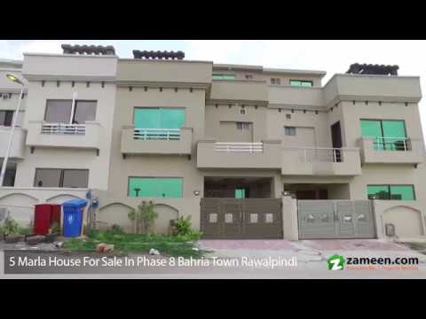 5 MARLA BRAND NEW HOUSE FOR SALE IN PHASE 8 BAHRIA TOWN RAWALPINDI