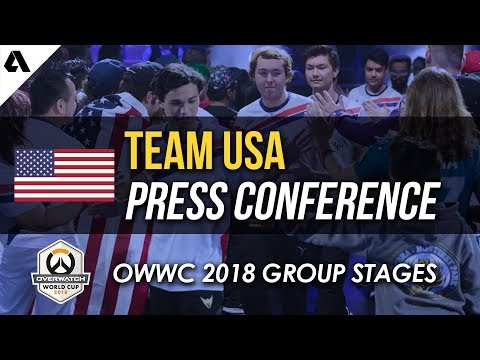 Team USA Press Conference | Overwatch World Cup 2018 - Los Angeles Qualifier thumbnail