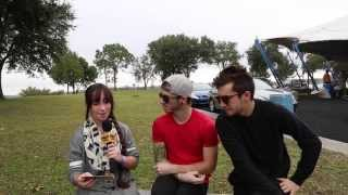 TWENTY ONE PILOTS Interview w/ Pavlina 2013 TOUR JAX, FL