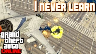 Getting Booted Offline in Bad Sport | GTA 5 Online (PS4 Pro)
