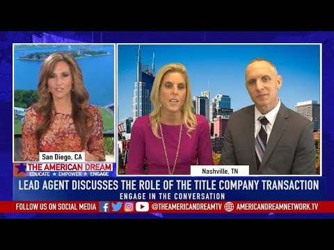 The American Dream   - Importance of Title Company and Wire Fraud Warning