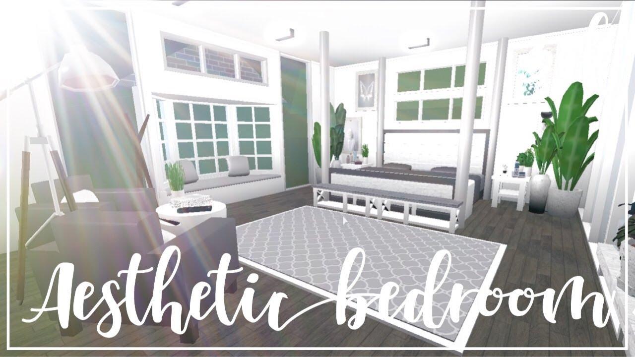 Bloxburg: Aesthetic Bedroom 30k - YouTube