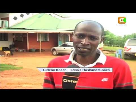 Kenyans Celebrate Gold Medal By Edna Kiplagat