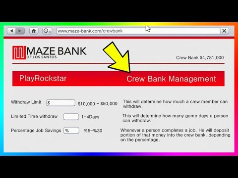Gta Online Shared Bank Account Concept Sharing Money Giving Cash To Friends More Gta 5 Youtube