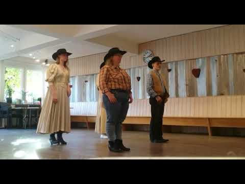 Line Dance  Training  Canadian Stomp