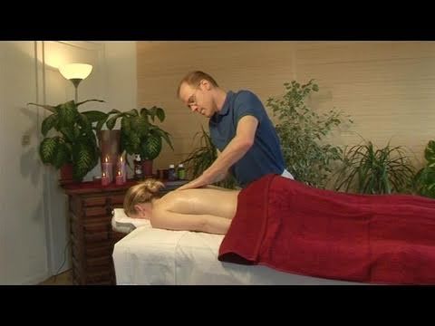 How To Give A Deep Stress Relief Back Massage