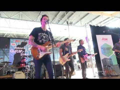 Melbourne Guitar Show Jam 2016 - Cheap Sunglasses