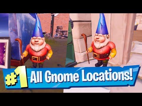 Destroy Gnomes At Camp Cod Or Fort Crumpet Location - Fortnite Battle Royale