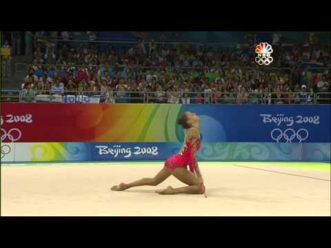 Evgenia Kanaeva Clubs 2008 Olympic AA (HD)