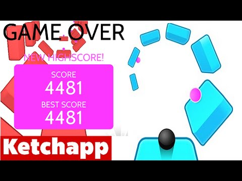 TWIST by Ketchapp   High Score 4000+ (4481) World Record (iPhone Gameplay Video)