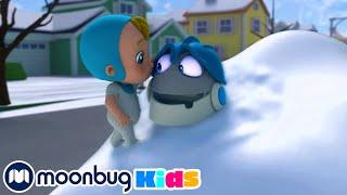 Играем в снежки Робот Арпо Детские песни Сборник мультиков
