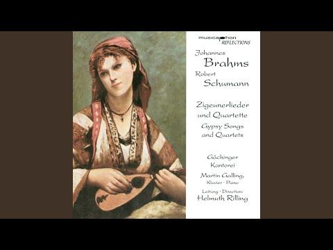 11 Zigeunerlieder (Gypsy-Songs) , Op. 103: No. 10. Mond verhullt sein Angesicht