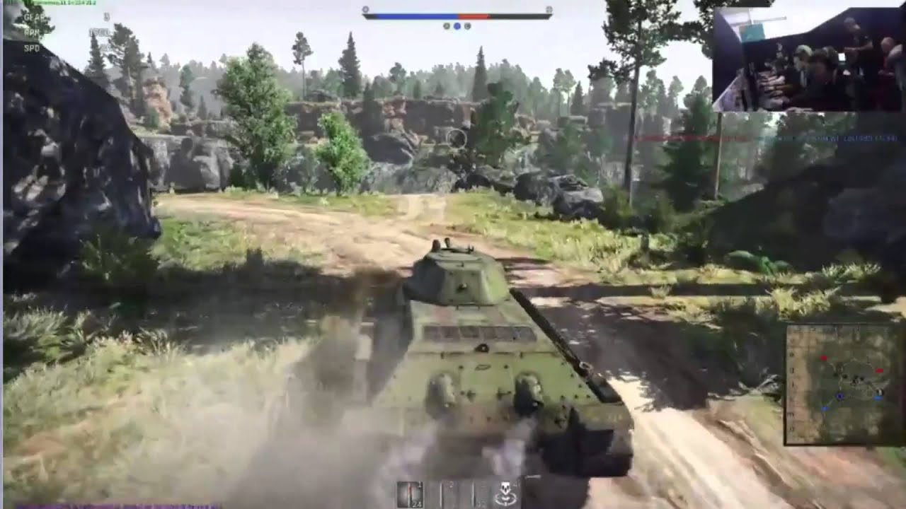 war thunder can play tanks