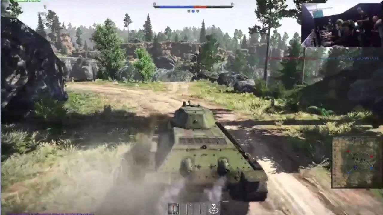 how do you play war thunder tanks