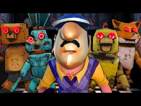 FIVE NIGHTS WITH NEIGHBOR FREDDY - Five Nights at Freddy's Rip-Offs
