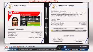 FIFA 13: New Manager Mode Menu + International Manager / Transfers & More