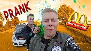 McDonalds PRANK | STREIT ESKALIERT | Mitarbeiterin will Polizei rufen