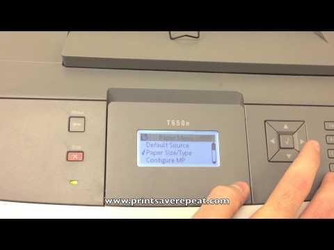 driver imprimante lexmark t650n