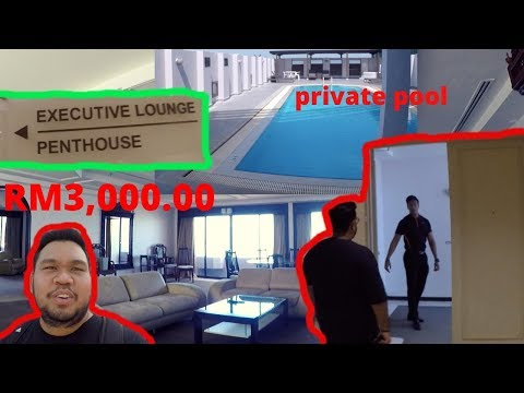 CHECK IN PENTHOUSE RM3,000.00 ( BAYVIEW BEACH RESORT PULAU PINANG ) | KHAIRI VLOG #50
