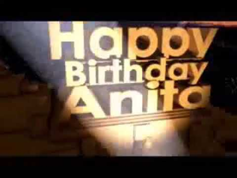 Happy Birthday Anita Didi