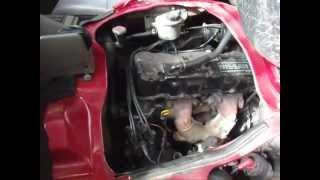 1994 Nissan Vanette Z20S Cold Start