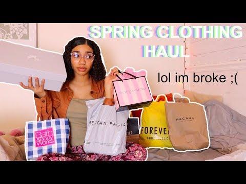 $300 SPRING CLOTHING HAUL