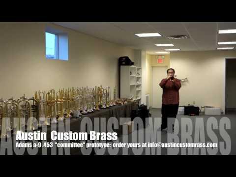 Adams A9 Trumpet demonstration: Trent Austin, Trumpet