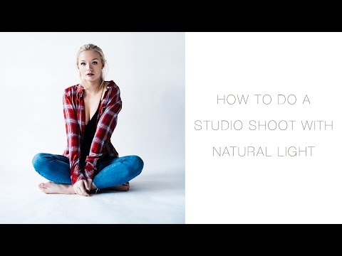 How To Do A Studio Photoshoot With Natural Light — Olivia