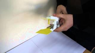 Видео инструкция по креплению бирки для идентификации животных КРС производства АО