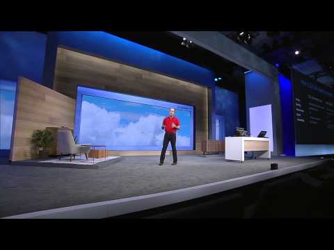 Microsoft //Build/ Conference 2015 Day 1 Keynote