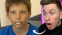 Er wurde jahrelang wegen seiner Zähne gemobbt, doch dann änderte sich alles.