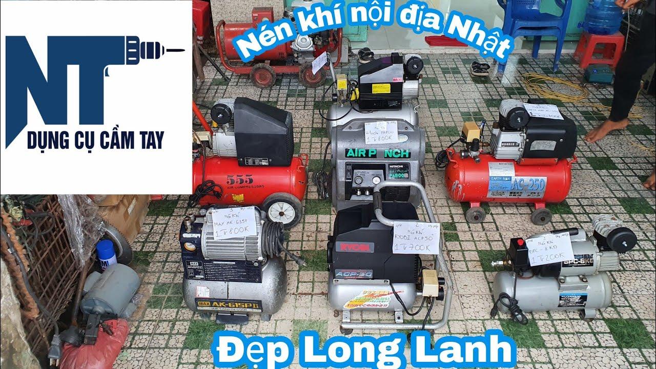 Lên sàn lô nén khí nội địa Nhật điện 110v | Áp cực chuẩn | Ngày 20/09/2020 | LH 0914711438