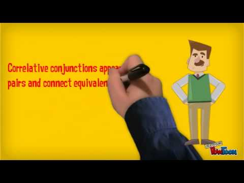 Conjuctions video created by Raj Shah