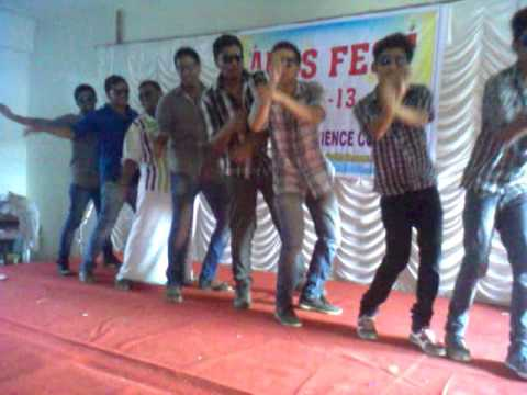 I.S.S Arts and science college perinthalmanna students action song