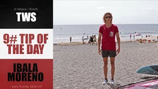 9# TIP OF THE DAY - Iballa Moreno - how to warm up before sailing
