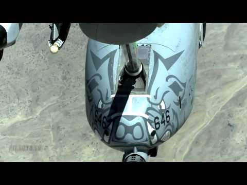 A-10 And F-16 Refueling (2012)