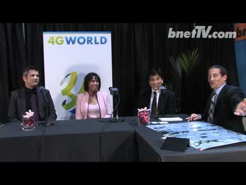 bnetTV's panel with NFC and Ceragon