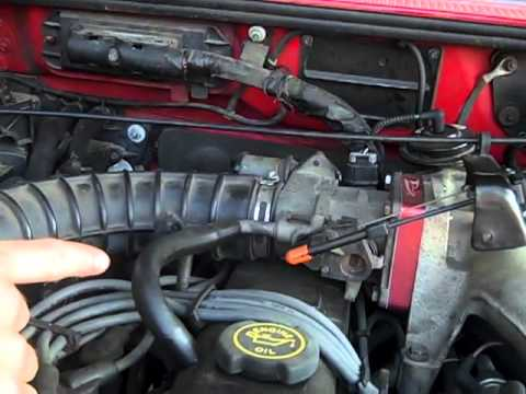 Check AC vacuum leaks on Ford Ranger (AC only blows