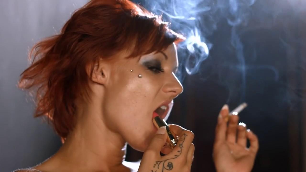 smoking pornstar
