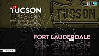 FC Tucson vs. Fort Lauderdale CF: September 26, 2020
