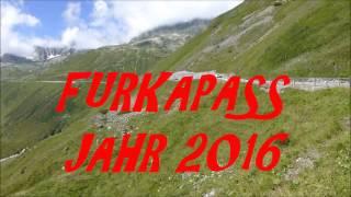 FURKAPASS (SCHWEIZ) 1964 + 2016