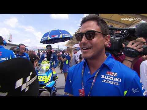 Hamish Daud Wyllie visited MotoGP™ at Malaysia