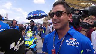 Hamish Daud Wyllie visited MotoGP™ at Malaysia