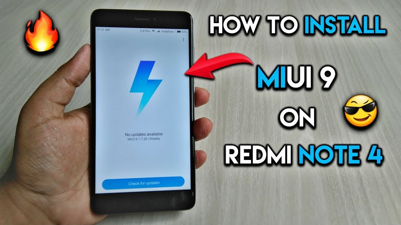 How to Install MIUI 9 Global Beta on Redmi Note 4