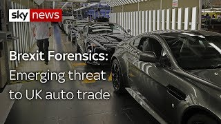 brexit forensics rules of origin fears for car industry