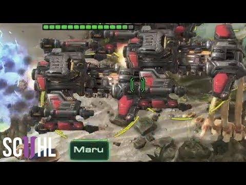 Maru's MASS BATTLECRUISERS! - Starcraft 2 GSL
