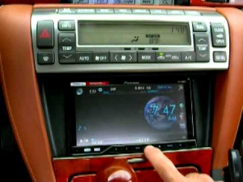 02 Lexus Sc430 Mark Levinson Navigation Rentention Radio
