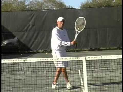 Tennis Oxygen   How to Stick a Forehand Volley
