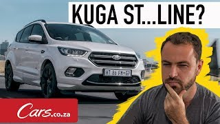 New Ford Kuga ST Line Review - What does that ST badge mean?