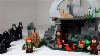 Lego Lord of the Rings Attack on Weathertop Review 9472